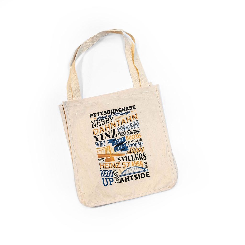 Pittsburghese Tote