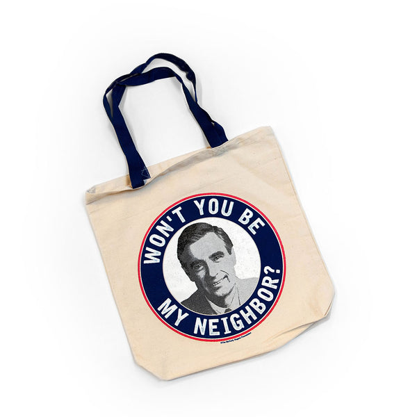 "Mister Rogers ""Be My Neighbor"" Tote Bag"
