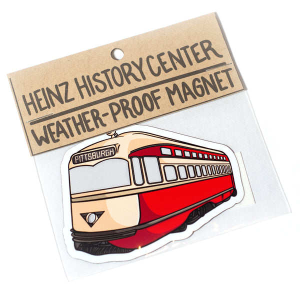 Heinz History Center Trolley (Sticker or Magnet)