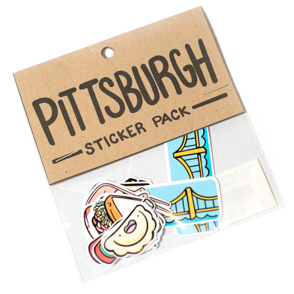 Pittsburgh Sticker Pack