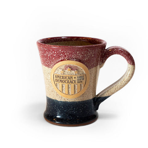 American Democracy Exhibit Stoneware Mug