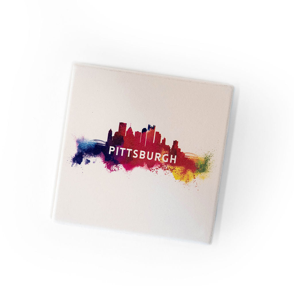 Pittsburgh Drink Coaster