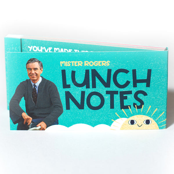 Mister Rogers Lunch Notes