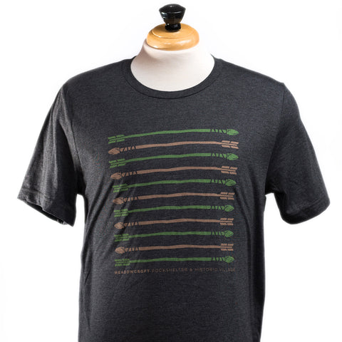 Meadowcroft Arrow Pattern T-Shirt