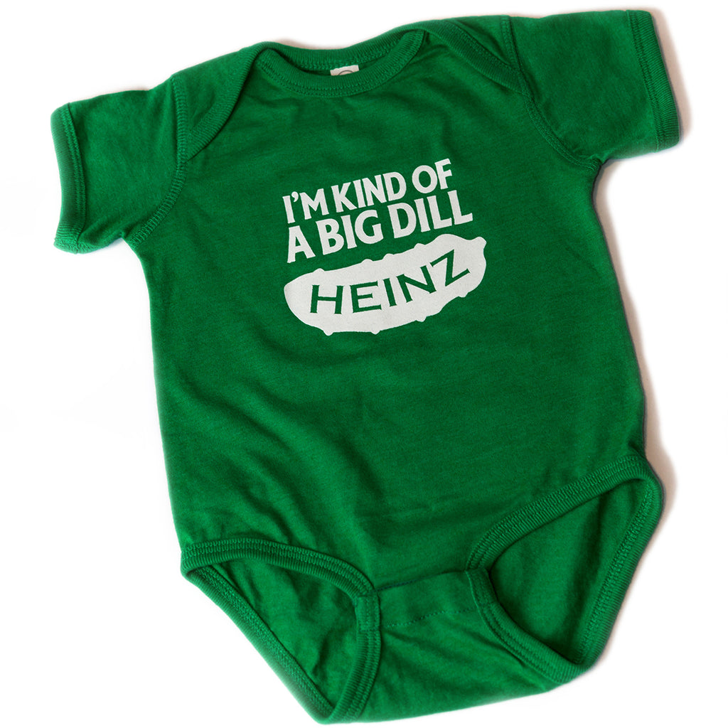 """I'm Kind of a Big Dill"" Onesie"