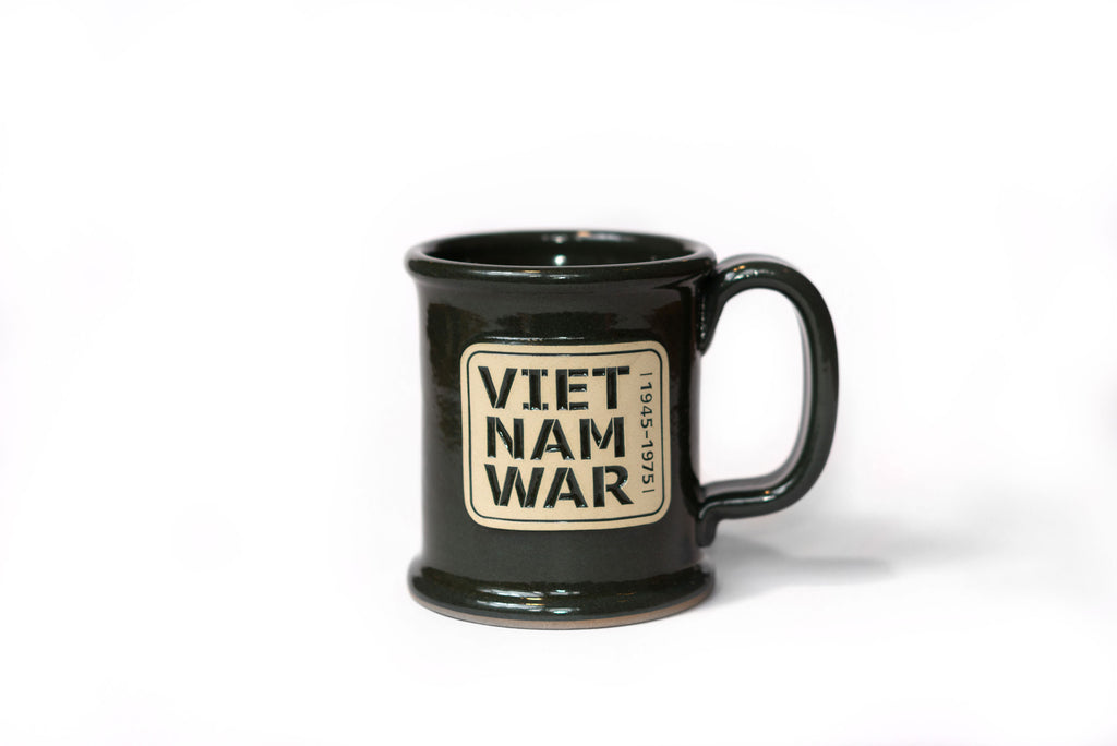 Stoneware Mug: Vietnam War Exhibit