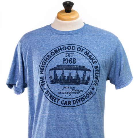 Mister Rogers 1968 Trolley T-Shirt