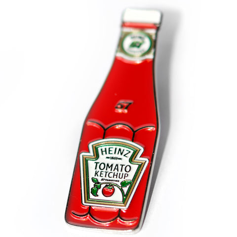 Heinz Ketchup Bottle Enamel Pin