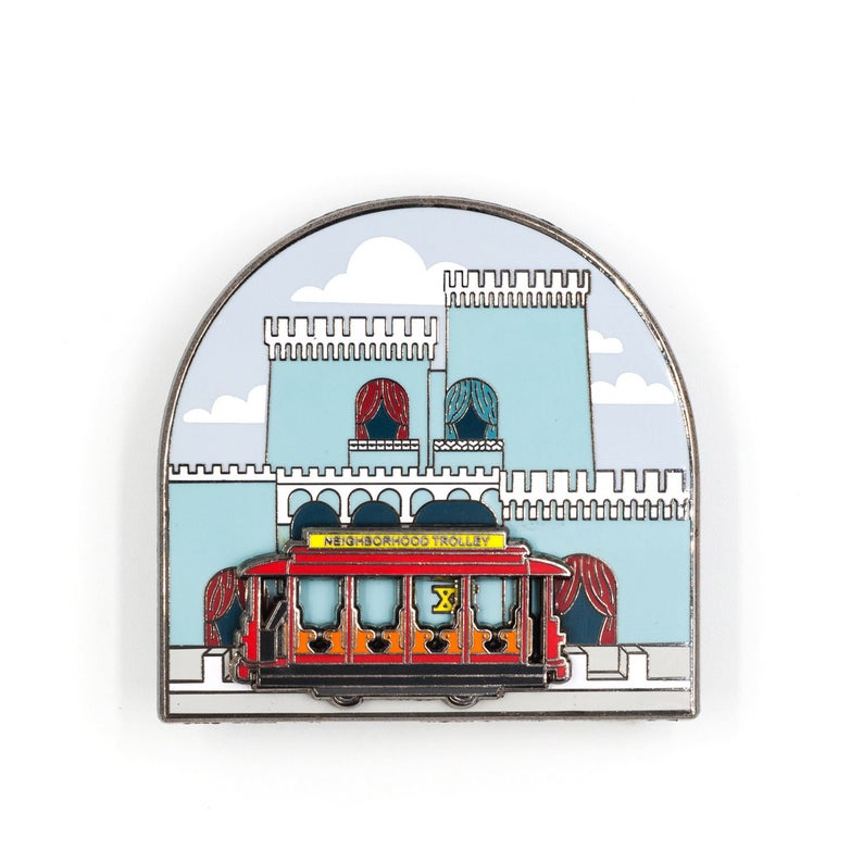 Trolley from Mister Rogers Neighborhood Enamel Pin
