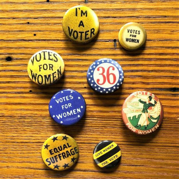 Votes for Women Pin Pack