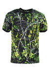 Men's Toxic Camo Short Sleeve Tee - American Outdoor Woman