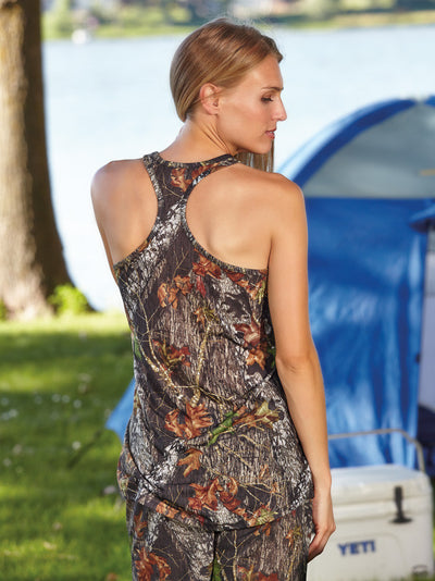 Mossy Oak Camo Tank Top Racerback - American Outdoor Woman