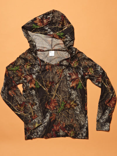 Mossy Oak Camo Casual Hoodie - American Outdoor Woman