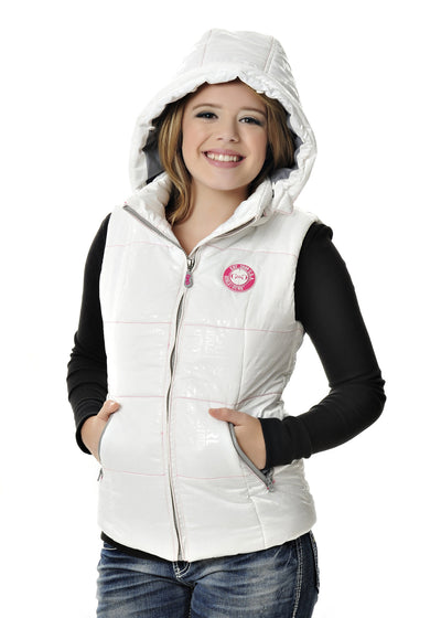 GWG Fur Vest White - American Outdoor Woman