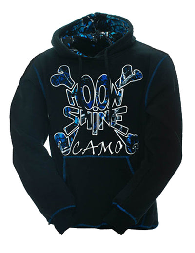 a Moon Shine Hoodie Undertow Black - American Outdoor Woman