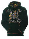 a Moon Shine Hoodie Wildfire Black - American Outdoor Woman