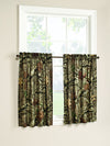 "Mossy Oak  36"" Tier Pair Curtains."