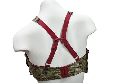 Kings Camo Cranberry  Women's Bra - American Outdoor Woman