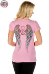 Faith, Hope, Fearless Women's Shirt (Pink) - American Outdoor Woman