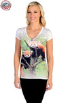 Red Pandas Short Sleeve - American Outdoor Woman