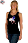 Women's Patriotic Stallion Tank Top