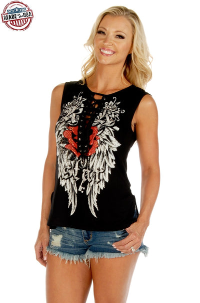 Rock Star Tank Top - American Outdoor Woman