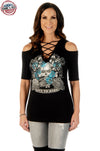 Bikers-Booz-Babes Country T-Shirt - American Outdoor Woman