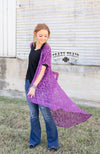 PURPLE ALBUQUERQUE DUSTER - American Outdoor Woman