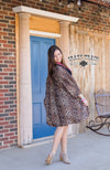 THE CALIFORNIA CARDIGAN ** LEOPARD Women's Western Duster - American Outdoor Woman