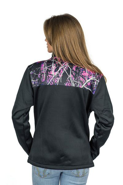 a Muddy Girl Jacket Shoulder Protek SoftShell - American Outdoor Woman