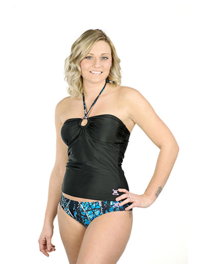 Undertow Camo Full Coverage Bikini Bottoms - American Outdoor Woman