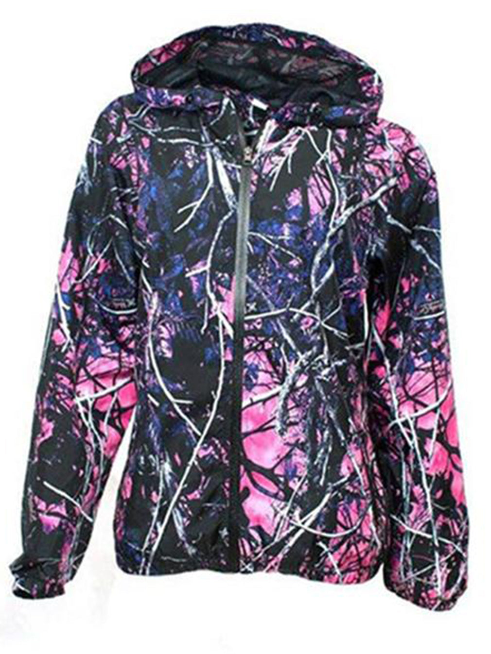 9aaaf611f94d9 Camo Hoodie, Muddy Girl Wind Breaker Jacket - American Outdoor Woman