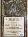 RealTree Camo 16 Piece Cutlery Set - American Outdoor Woman