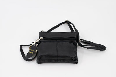 Leather Mini purse with strap