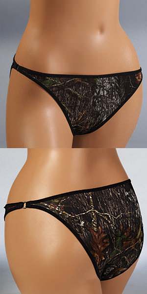 Mossy Oak Camo Bra with Charm - American Outdoor Woman