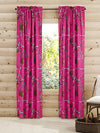 "b RealTree Panel Pair Curtains 84"" (Pink) - American Outdoor Woman"