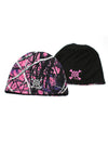 a Muddy Girl Camo Beanie Reversible - American Outdoor Woman