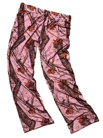 Mossy Oak Camo Pink Casual Wear Pants - American Outdoor Woman