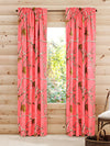 "RealTree Panel Pair Curtains 84"" (Coral)"