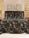 RealTree Comforter Mini Set Black - American Outdoor Woman