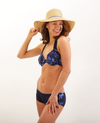 Mossy Oak Elements Swimsuit Bikini Halter (Top Only) (Blue) - American Outdoor Woman