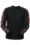 Long Sleeve Tee (Wild Fire) - American Outdoor Woman