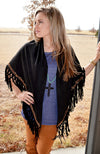 Seminole Wind Western Poncho - American Outdoor Woman
