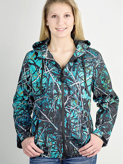 A Serenity Camo Wind Breaker - American Outdoor Woman