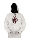 a KRT Men's Tartaros Hoodie Yeti & Black - American Outdoor Woman