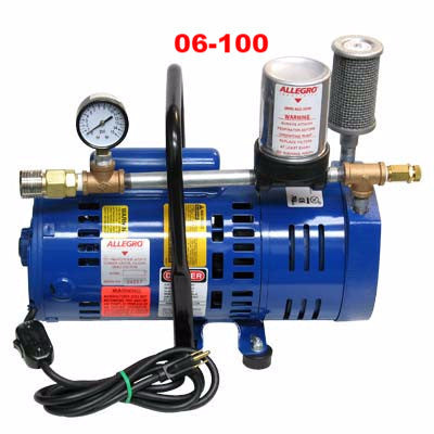 Breathing air pump 3/4 hp  (do not use with generators).