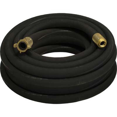 Black Sandblasting Hose Assembly with 3X FULL PORT Connector.