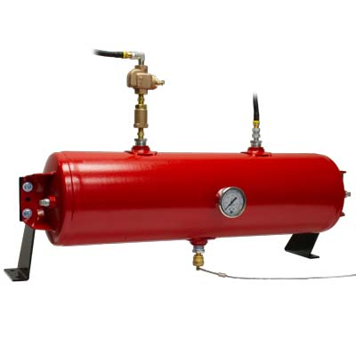 Auxiliary Air Tank / Emergency Air Tank.