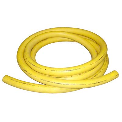Yellow Air Supply Hose for Sandblasters.