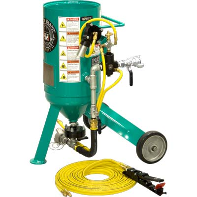 Pirate Brand CPR Jr. Small Portable Sandblaster .5 Cu. Ft.